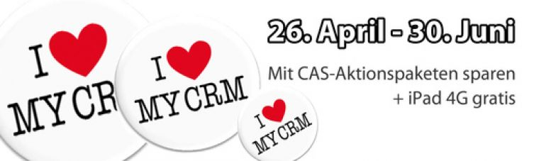 I Love My CRM Aktion 2012